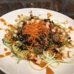 Kale Zucchini Spiral Salad